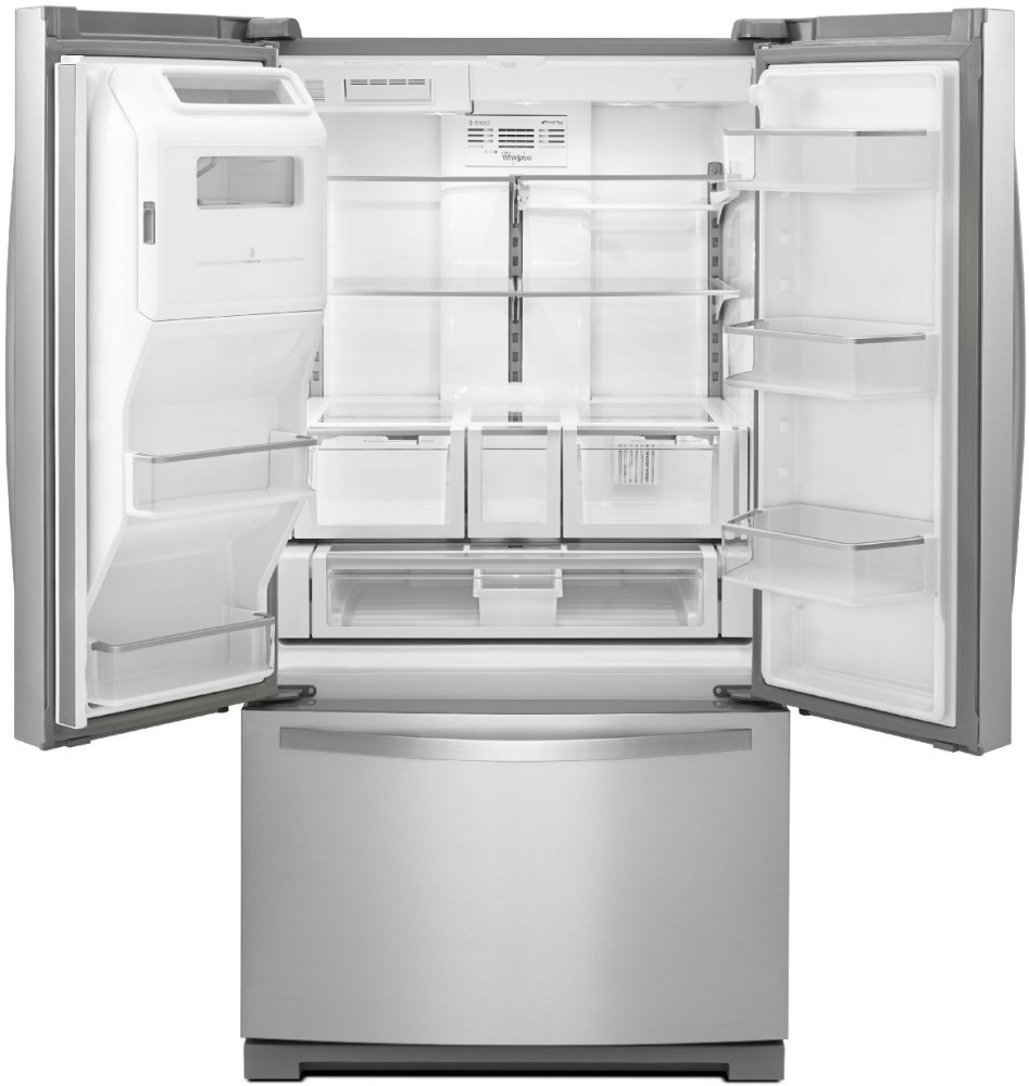 Creatively Cool Dual Cantilevered House In Peru: Whirlpool WRF997SDDM 36 Inch French Door Refrigerator With