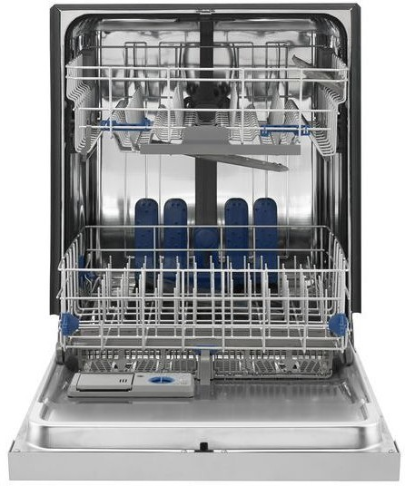 whirlpool wdf760sadm full console dishwasher with 5 wash cycles 49 db totalcoverage spray arm. Black Bedroom Furniture Sets. Home Design Ideas