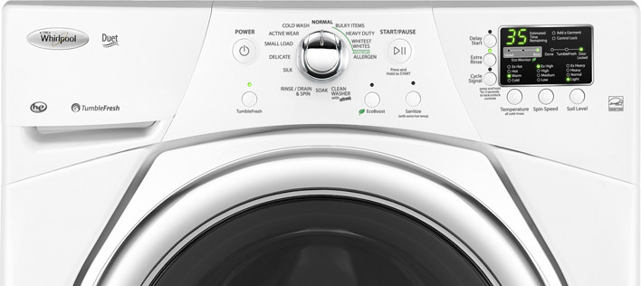 Whirlpool Wfw9351yw 27 Inch Front Load Washer With 3 5 Cu