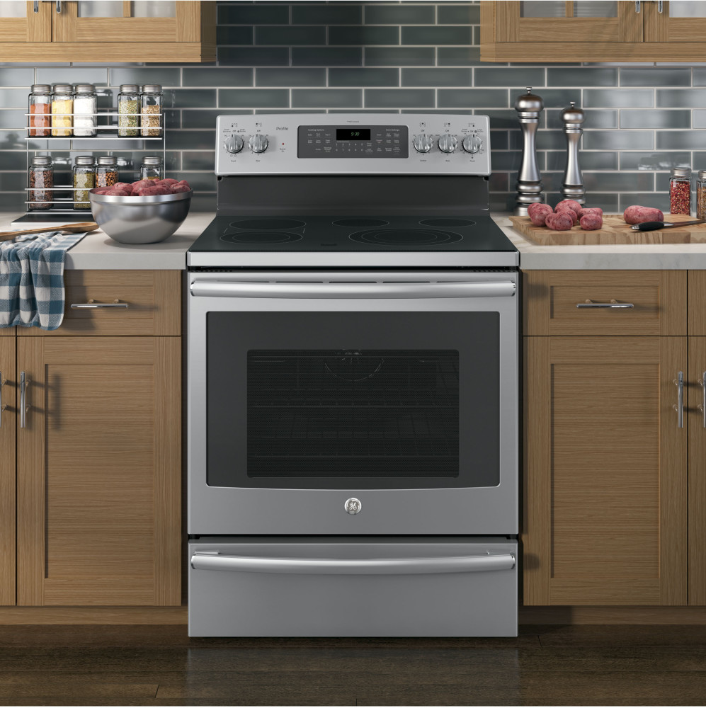 Ge Pb930sjss 30 Inch Freestanding Electric Range With 5 3
