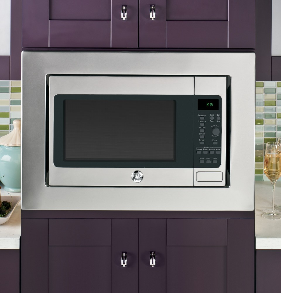 Countertop Microwave To Built In : Builder?