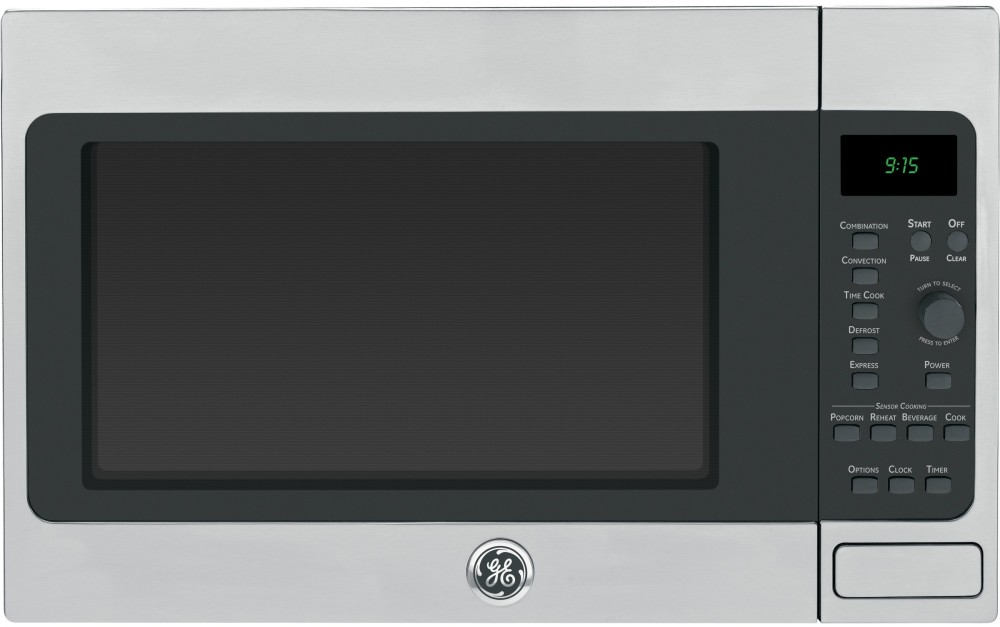 Ge Peb9159sfss Countertop Microwave With 1 5 Cu Ft