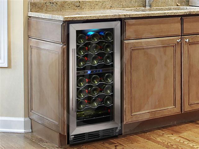Vinotemp Vt32sbid 15 Inch Undercounter Wine Cooler With 32