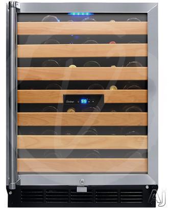 vinotemp vt50sbid 24 inch undercounter wine cooler with 50. Black Bedroom Furniture Sets. Home Design Ideas