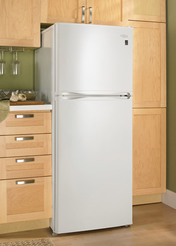 Danby Dff280wdb 9 9 Cu Ft Top Freezer Refrigerator With