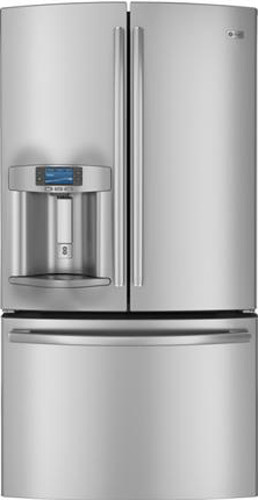 Ge Pye23psdss 23 1 Cu Ft French Door Refrigerator With
