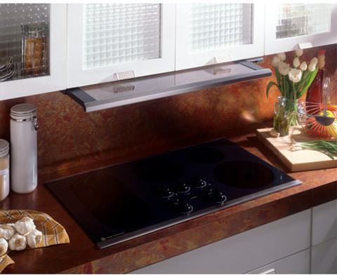 Ge Jv960scbr 36 Inch Under Cabinet Slide Out Range Hood