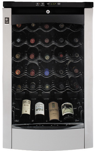 Ge Pwr04fanbs 20 Inch Wine Center With A 29 Bottle
