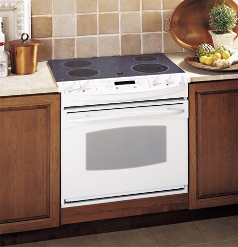 ge jdp47 30 inch drop in electric range. Black Bedroom Furniture Sets. Home Design Ideas