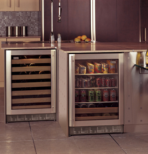 Monogram ZDWC240NBS 24 Inch Wine Chiller With 57-Bottle