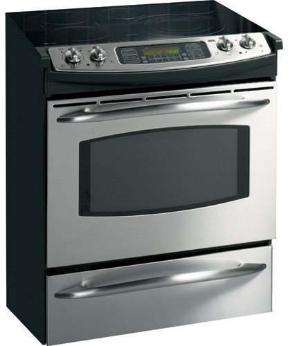 Ge Js968skss 30 Inch Slide In Electric Range With 5