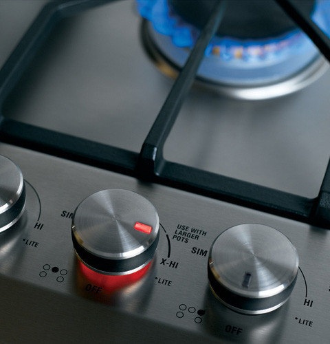 Monogram Zgu385nsmss 36 Inch Gas Cooktop With 5 Sealed