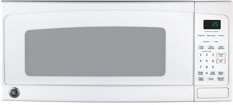 Countertop Microwave 12 Inch Depth : GE JEM25DM 1.0 cu. ft. Countertop Microwave Oven with 800 Watts, 10 ...