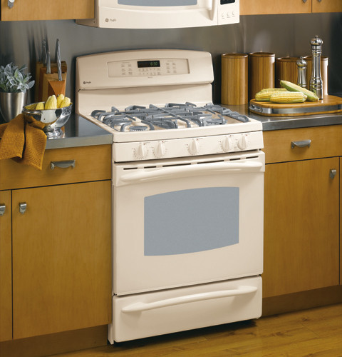Ge Pgb916demcc 30 Inch Gas Range With 5 Sealed Burners