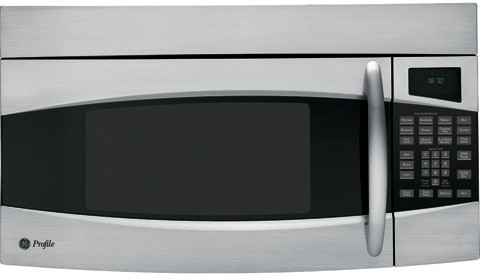 Ge Pvm1870 1 8 Cu Ft Over The Range Microwave Oven With