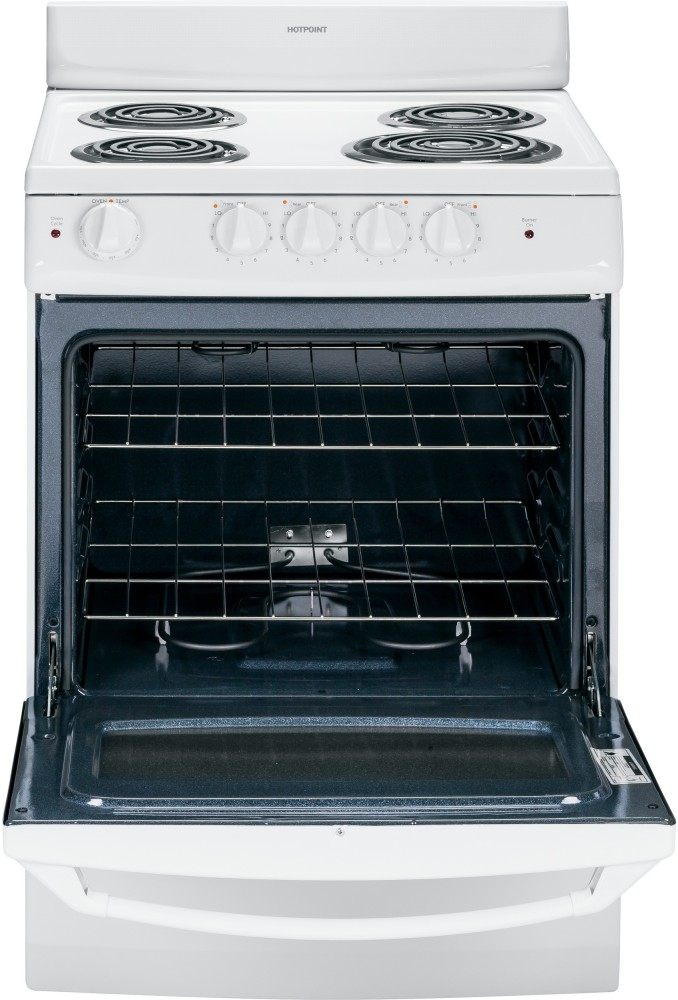 Ge Ra724kwh 24 Inch Freestanding Electric Range With 3 0