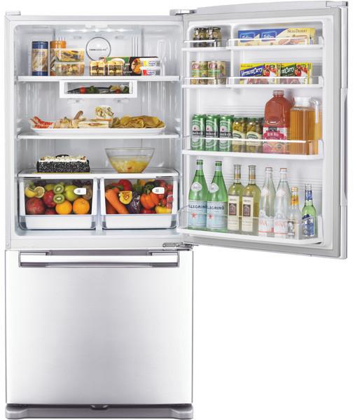 Samsung Rb215acbp 20 0 Cu Ft Bottom Freezer Refrigerator