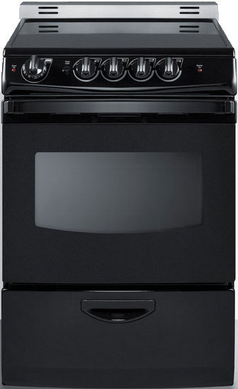Summit Rex24e 24 Inch Freestanding Electric Range With 4