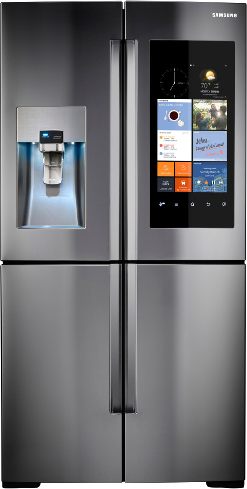 Samsung Rf28k9580sr 36 Inch 4 Door Refrigerator With