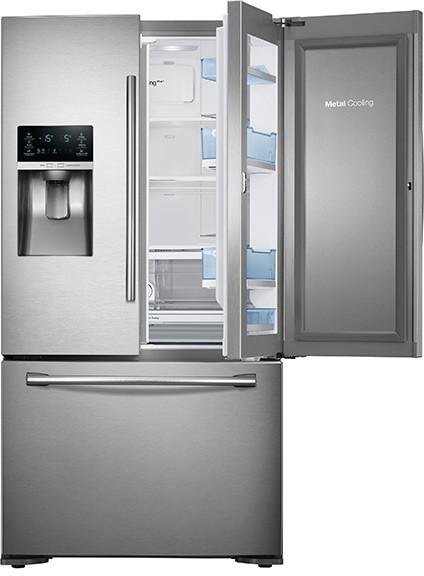 Samsung Rf23htedbsr 36 Inch Counter Depth French Door
