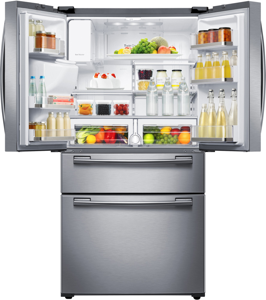 how to clean samsung refrigerator shelves