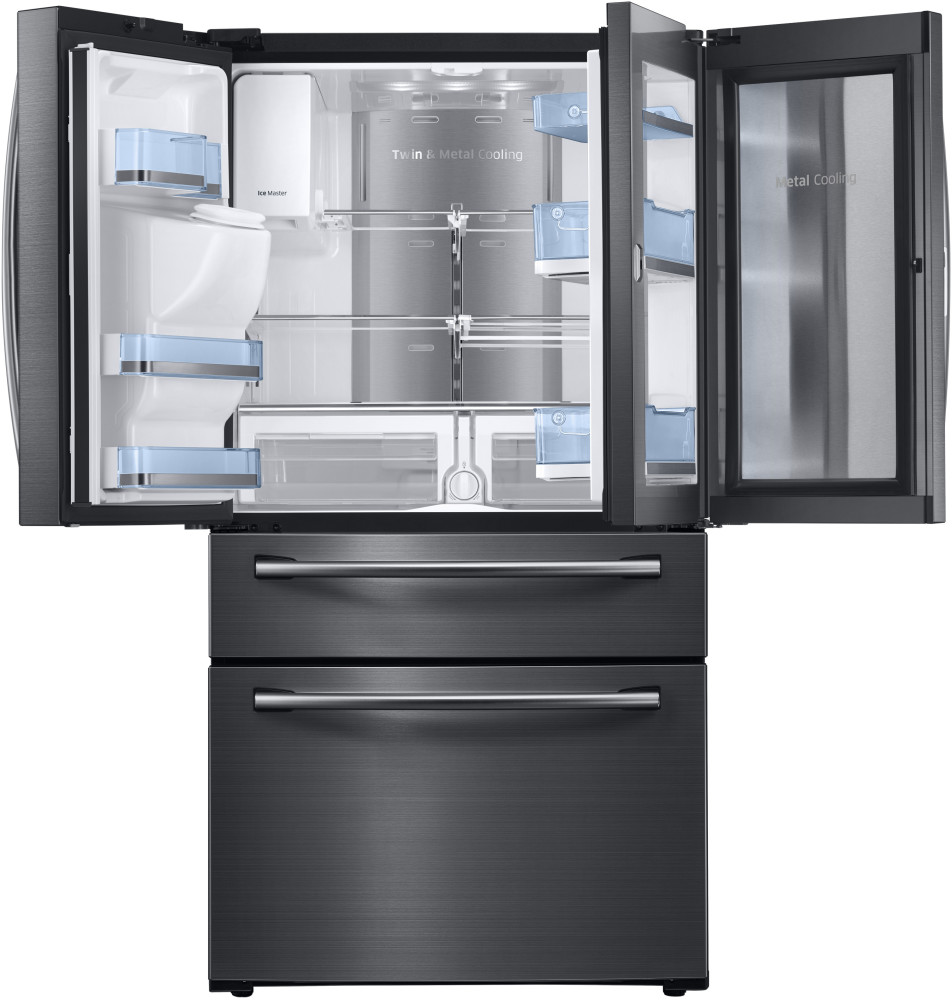 Samsung Rf28jbedbsg 36 Inch French Door Refrigerator With