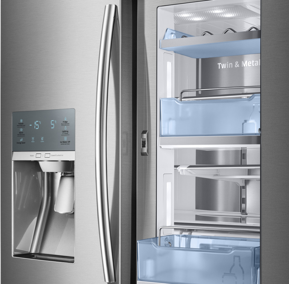 Samsung Rf28jbedbsr 36 Inch French Door Refrigerator With