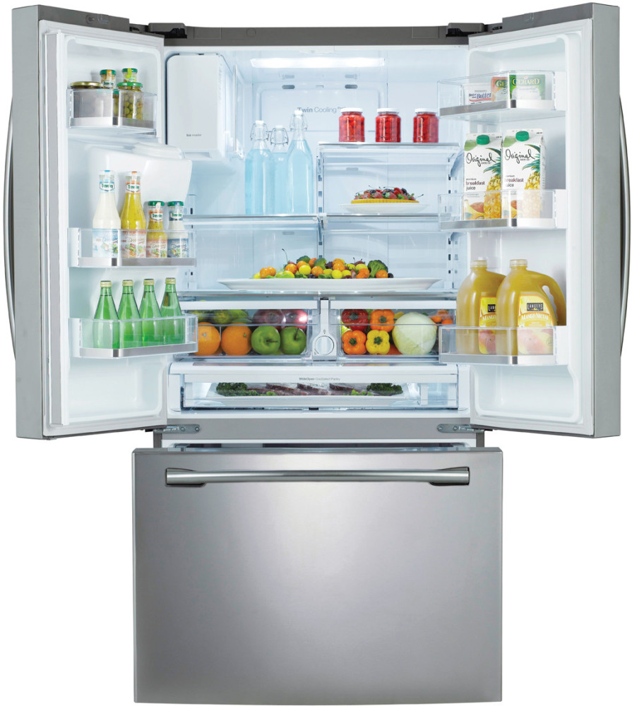 Samsung Rf323te 36 Inch French Door Refrigerator With 30 5