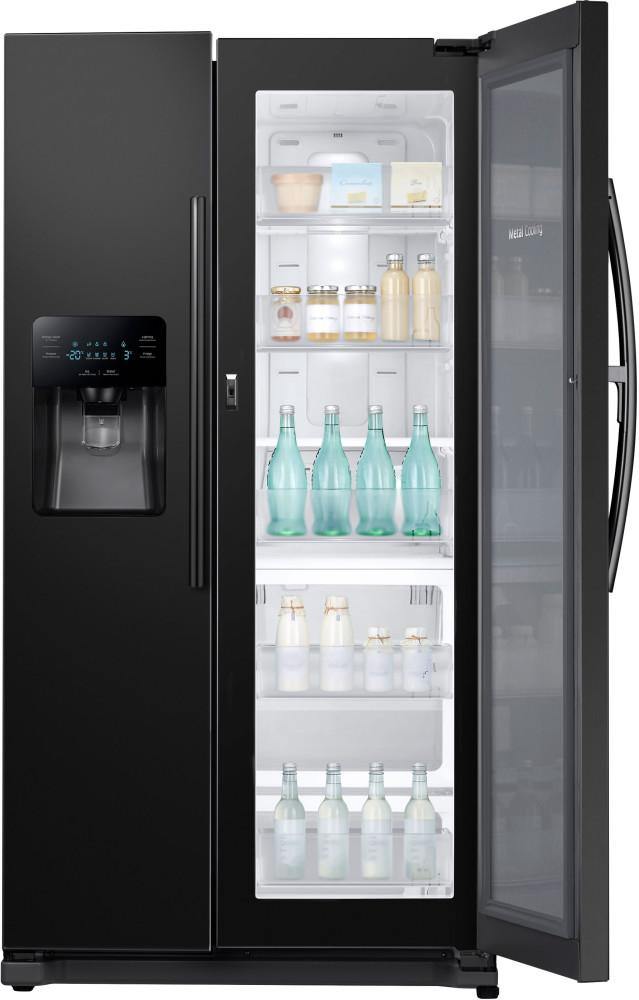 Samsung Rh25h5611bc 36 Inch Side By Side Refrigerator With