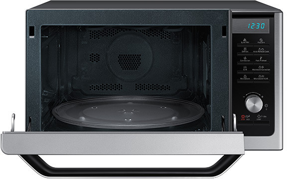 Samsung Mc11h6033ct Countertop Microwave Oven With 1 1 Cu