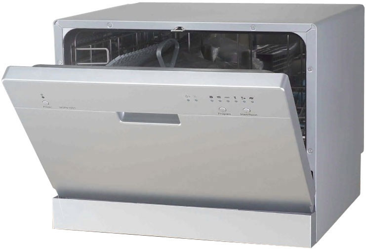 Countertop Dishwasher With Dry Cycle : Console Countertop Dishwasher with 6 Place Settings, 6 Wash Cycles ...