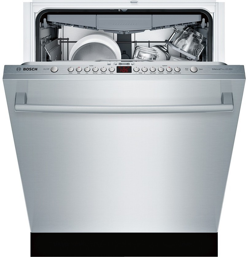 Bosch Sgx68u55uc Fully Integrated Dishwasher With 15 Place