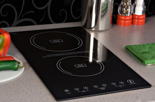 Fuel Induction Service >> Summit SINC2220 12 Inch Induction Cooktop with 2 Cooking Zones, 8 Power Levels, Automatic Pan ...