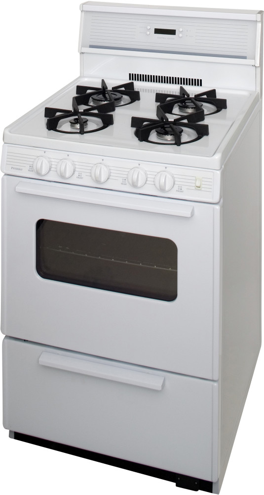 Premier Sjk240o 24 Inch Freestanding Gas Range With 4