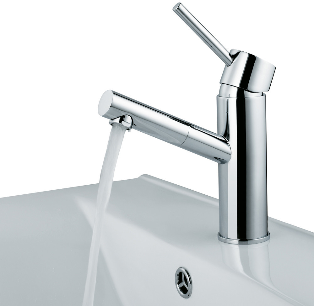 Vigo industries vg01009ch single lever bathroom faucet for Bathroom 8 inch faucets