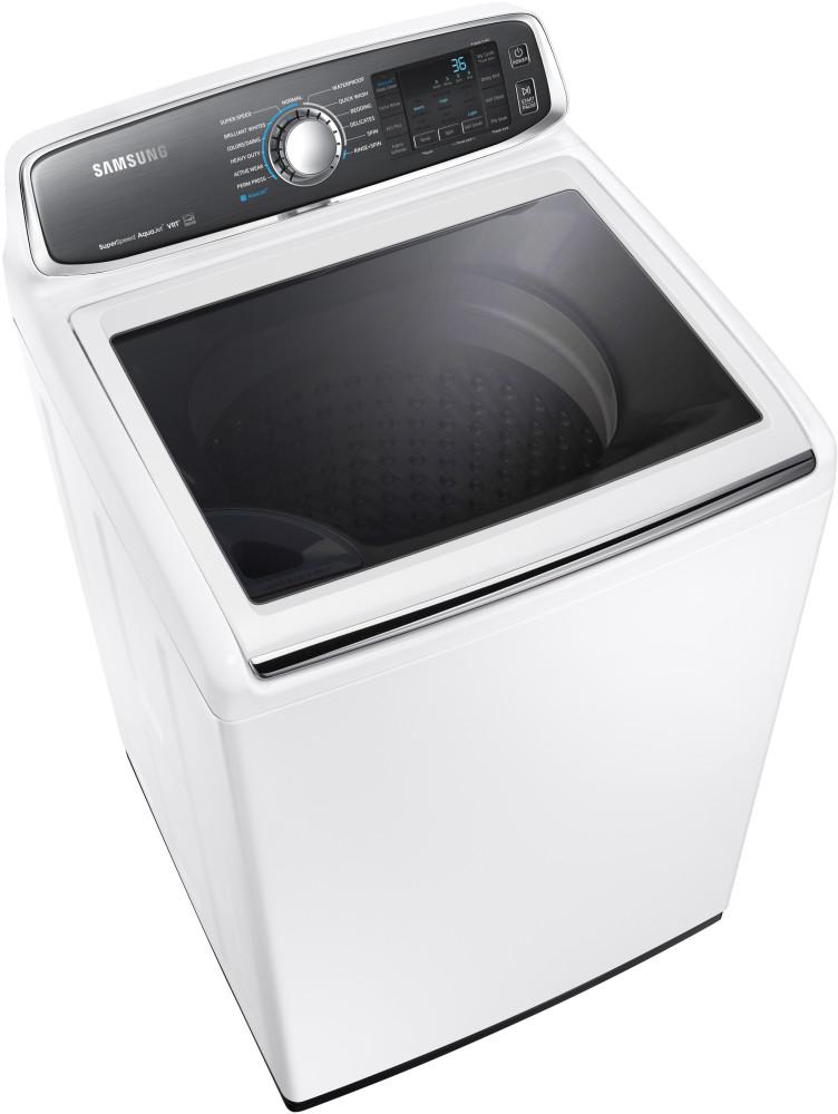 Samsung Wa52j8060aw 27 Inch 5 2 Cu Ft Top Load Washer