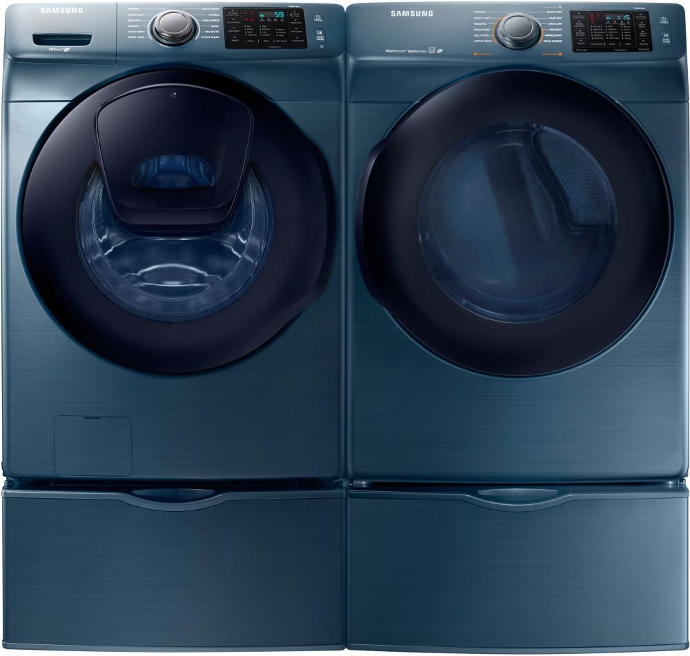 samsung wf45k6200az 27 inch 4 5 cu ft front load washer with addwash 12 preset wash cycles. Black Bedroom Furniture Sets. Home Design Ideas