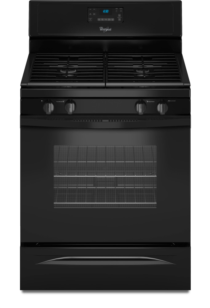 Whirlpool wfg520s0ab 30 inch freestanding gas range with 4 sealed burners 5 0 cu ft self - Clean gas range keep looking new ...