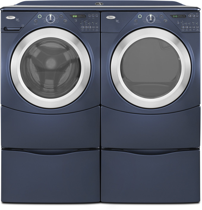 Whirlpool Wfw9400ve 27 Inch Front Load Washer With 4 0 Cu