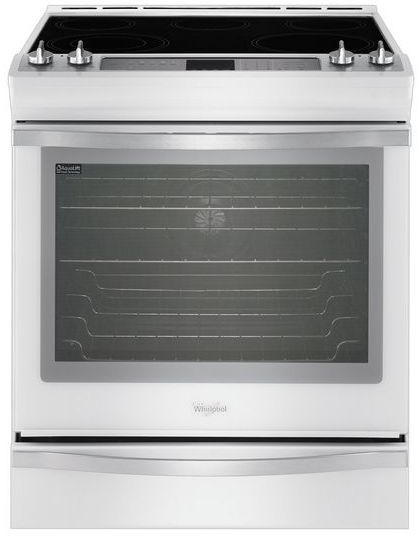 Whirlpool Wee760h0dh 30 Inch Slide In Electric Range With