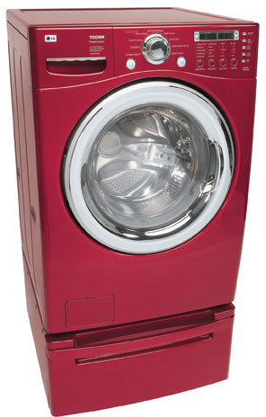 Lg Wm2487hrm 27 Inch Tromm Front Load Washer With 4 0 Cu