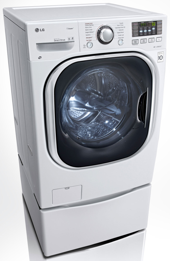 Lg Wm3997hwa 27 Inch Electric Washer Dryer Combo With 4 3