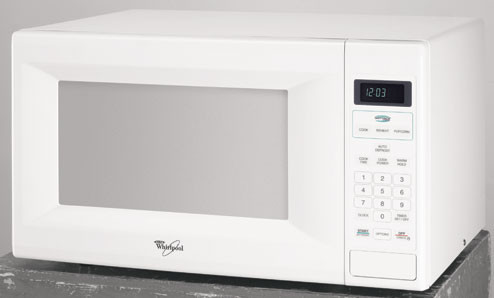 Countertop Microwave 12 Inch Depth : ... Cu. Ft. Countertop Microwave Oven w/ Sensor Cooking Cycles