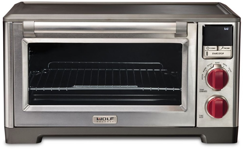 Wolf WGCO100S 1.1 cu. ft. Countertop Oven with 6 Cooking Modes, 5 ...