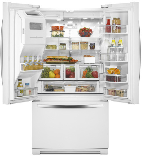 Whirlpool Wrf989sdaf 36 Inch French Door Refrigerator With