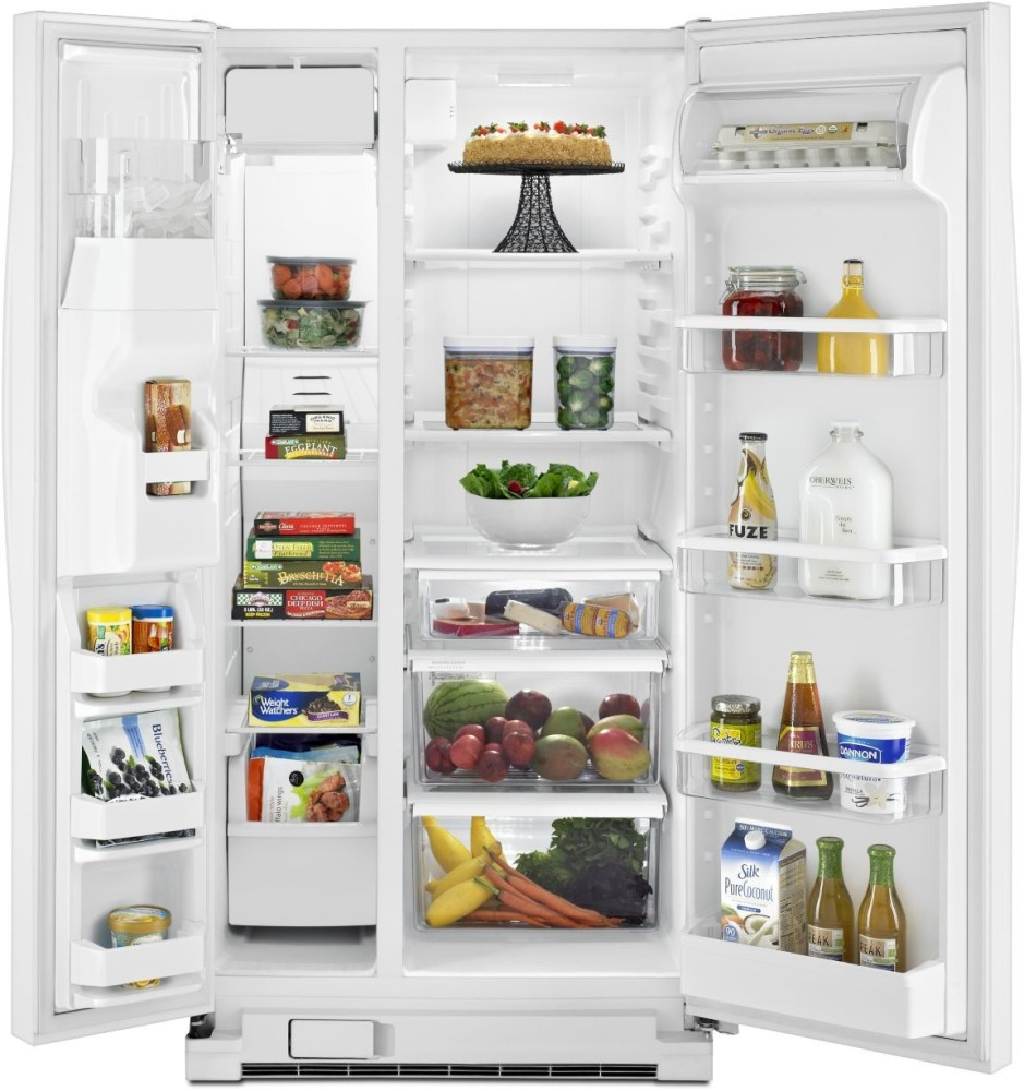 Whirlpool Wrs342fiaw 33 Inch Side By Side Refrigerator