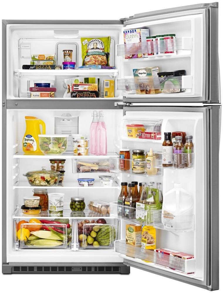 Whirlpool Wrt541szd 33 Inch Top Freezer Refrigerator With