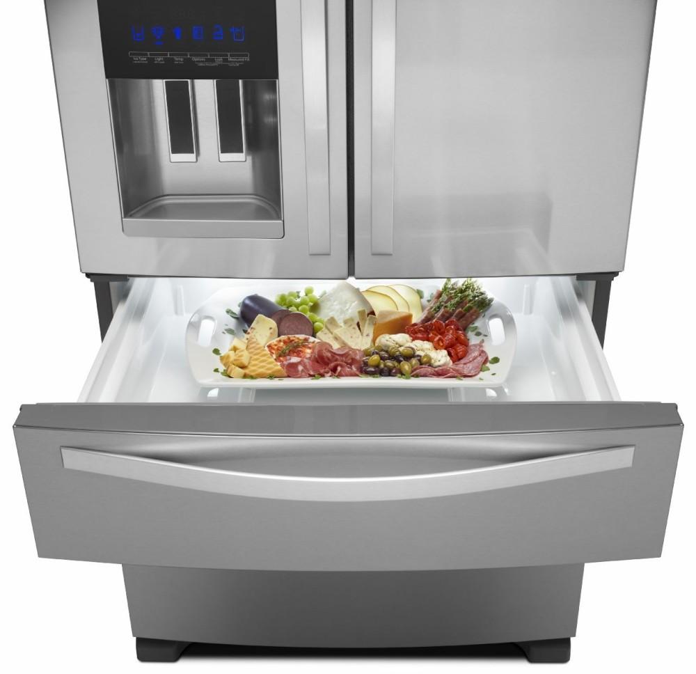 Whirlpool Wrx735sdbm 36 Inch French Door Refrigerator With