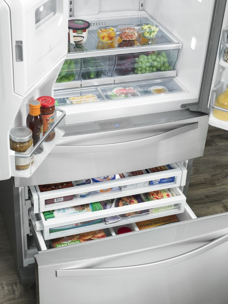 Whirlpool Wrx988sibm 36 Inch French Door Refrigerator With