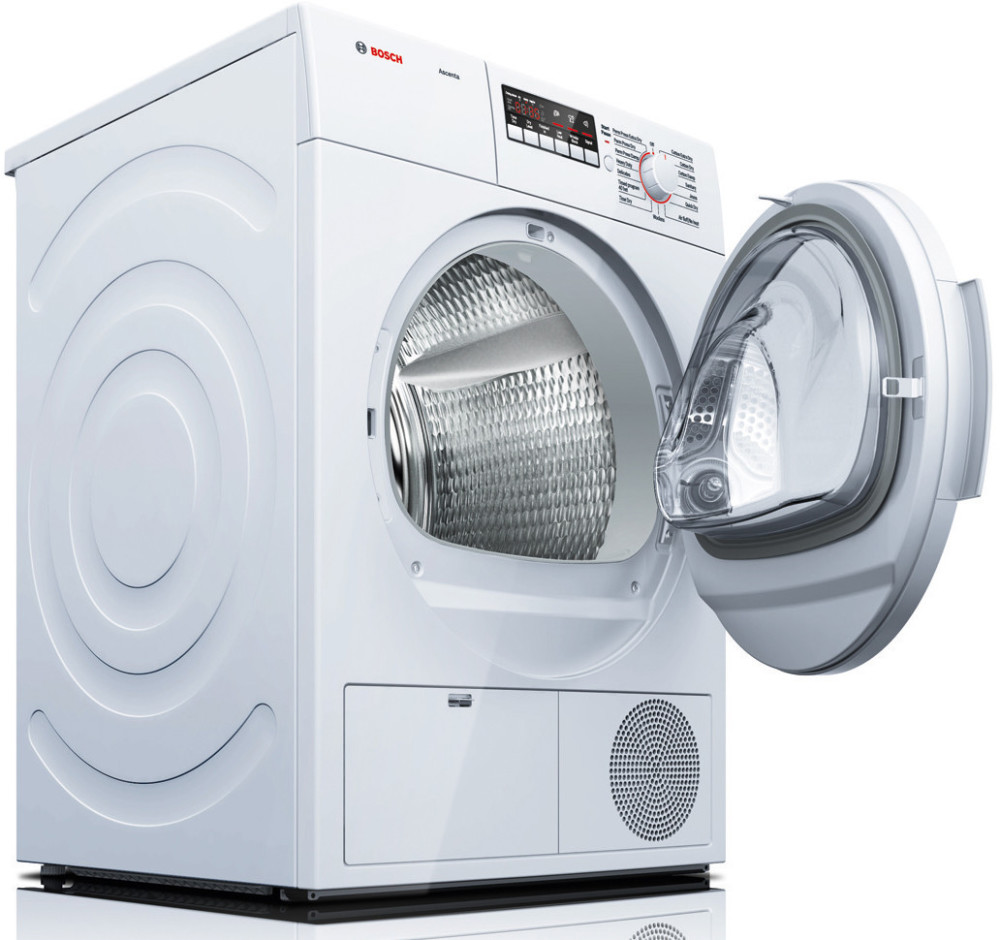 Bosch Dryer: Bosch WTB86200UC 24 Inch 4.0 Cu. Ft. Electric Dryer With